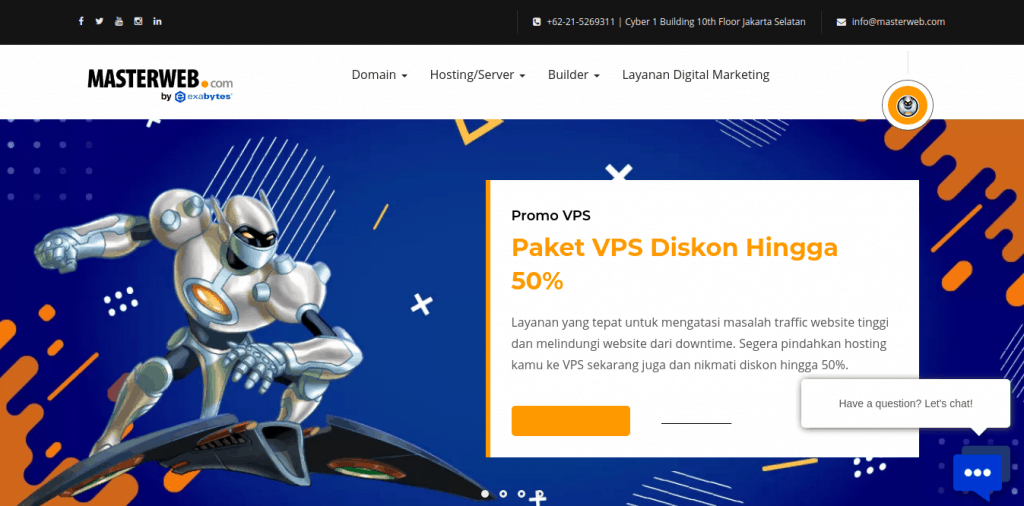 Daftar Website Penyedia Layanan Index Domain Website